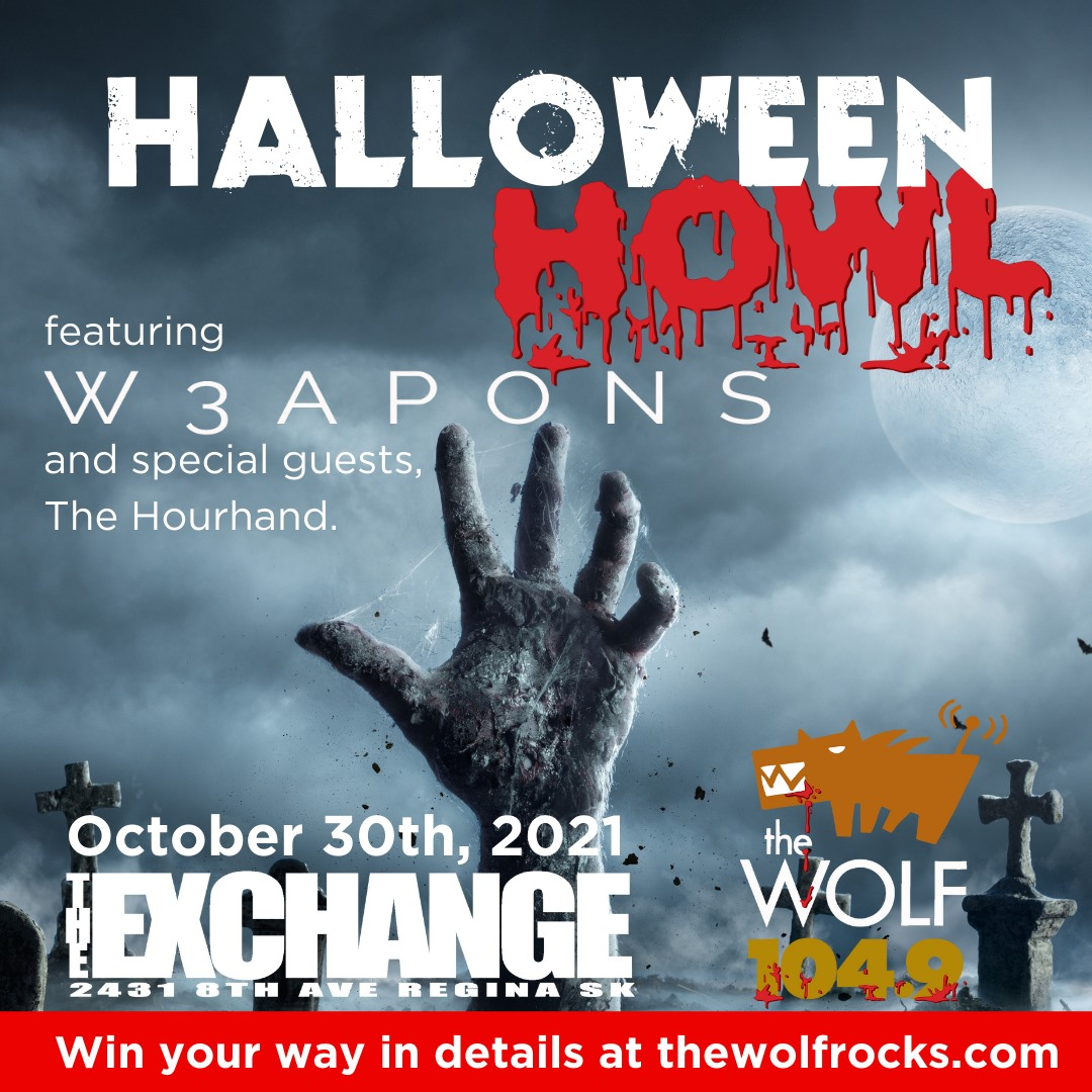 104.9 THE WOLF'S HALLOWEEN HOWL W/ W3APONS, THE HOURHAND, AND DUSTIN RITTER AND THE BLUE BASTARDS - OCTOBER 30, 2021