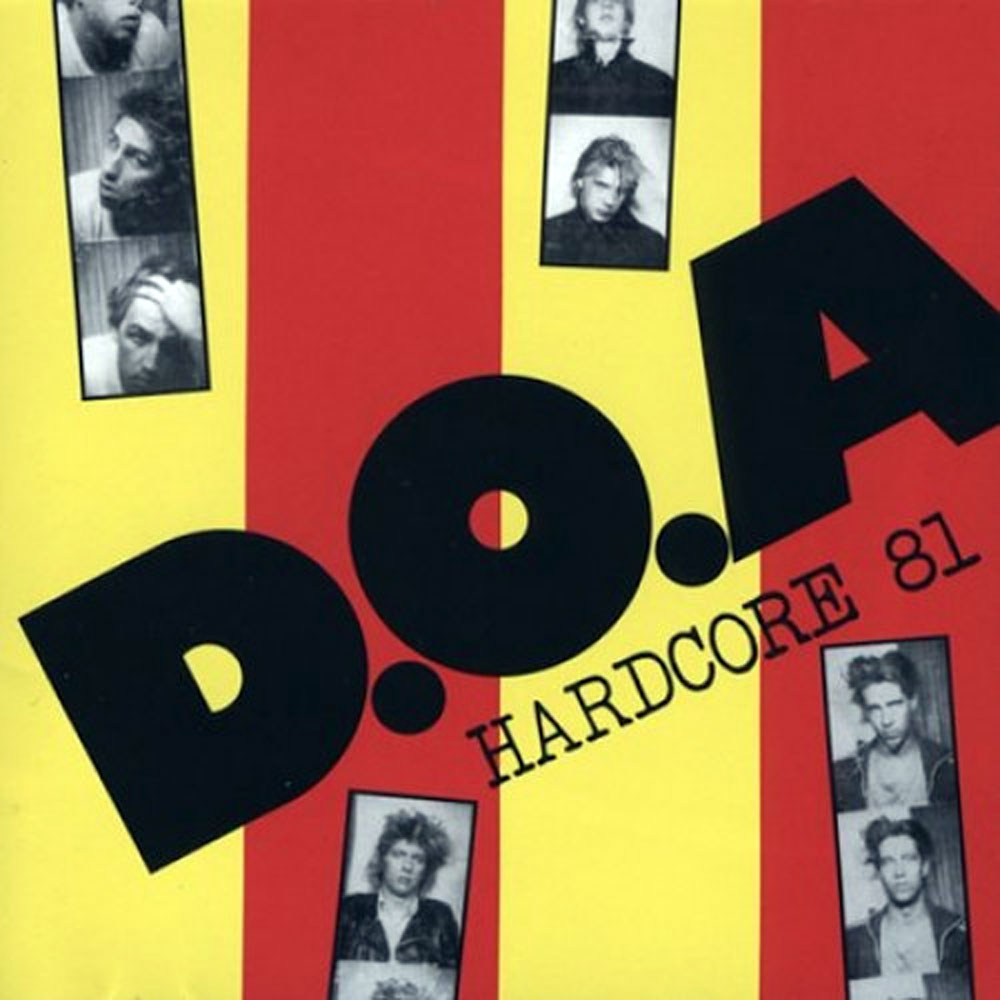 D.O.A PLAY HARDCORE '81 WITH GUESTS - BATS OUT - NOVEMBER 11, 2021