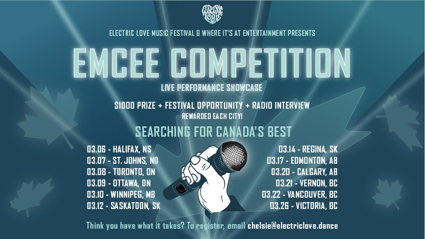 Emcee Competition Canada - Live Performance Showcase