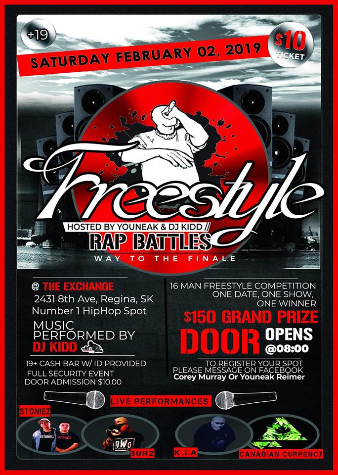 FREESTYLE RAP BATTLE COMPETITION