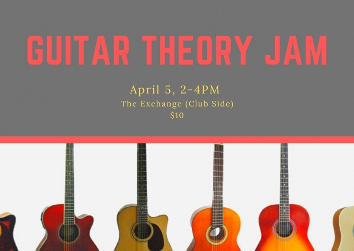 Guitar Theory Jam - Cancelled