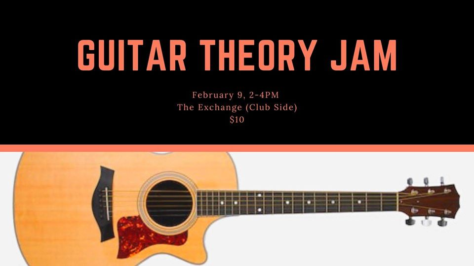 Guitar Theroy Jam w/ Erik Mehlsen - Feb 9, 2020