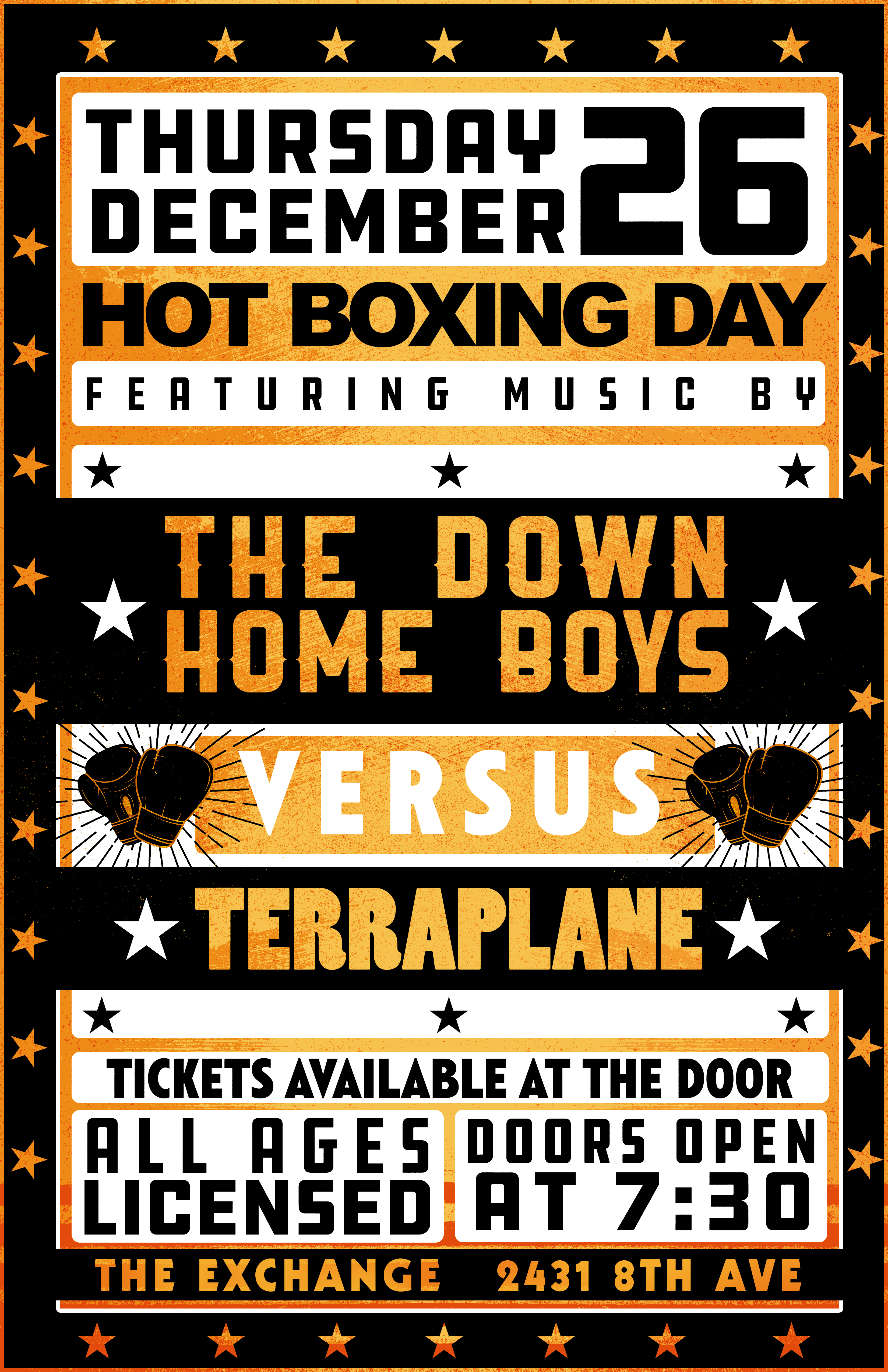 Down Home Boys and Terraplane - Hot Boxing Day 3