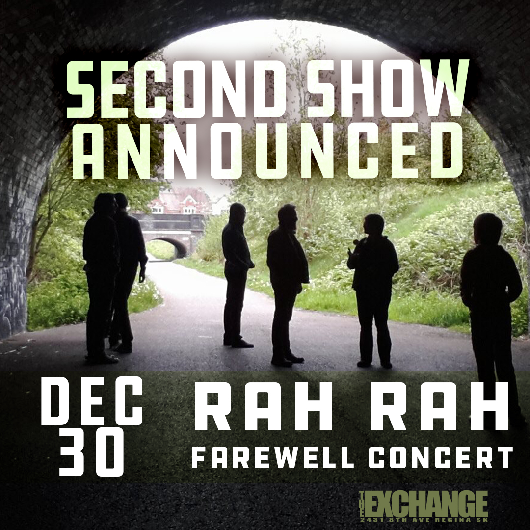 RAH RAH w/Natural Sympathies + MechaDroid - Farewell Concert 2 - Dec 30