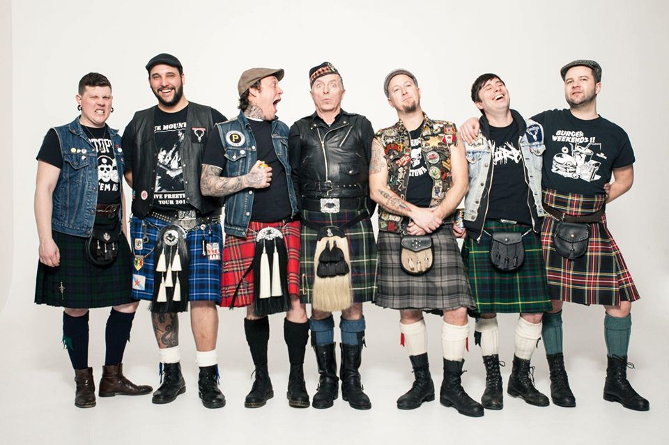 Real McKenzies, Real Sickies, Bats Out!,