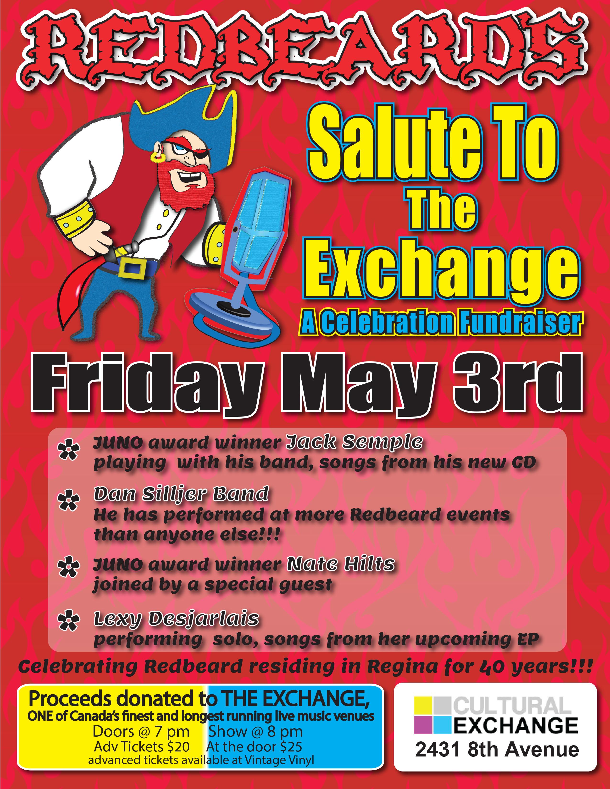 Jack Semple, Dan Silljer Band, Nate Hilts & Lexy Desjarlais - Redbeards Salute to the Exchange