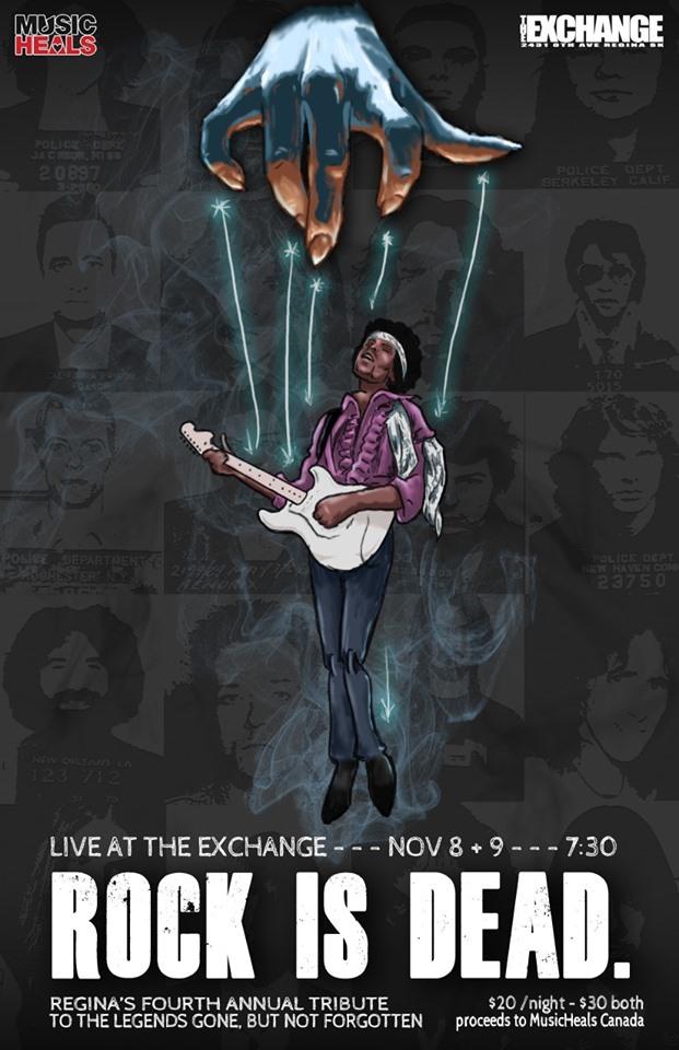 Rock Is Dead - IV - Nov 8 & 9