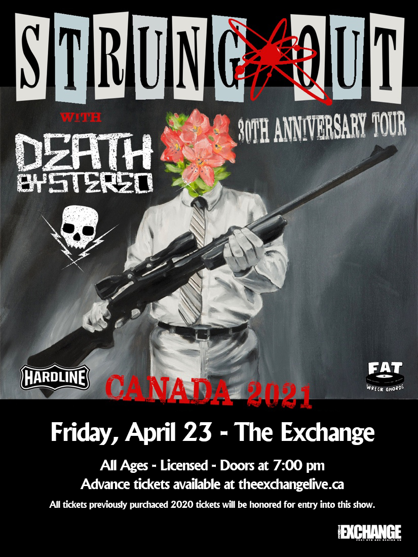Strung Out, Death By Stereo - NEW DATE April 23 - 2021
