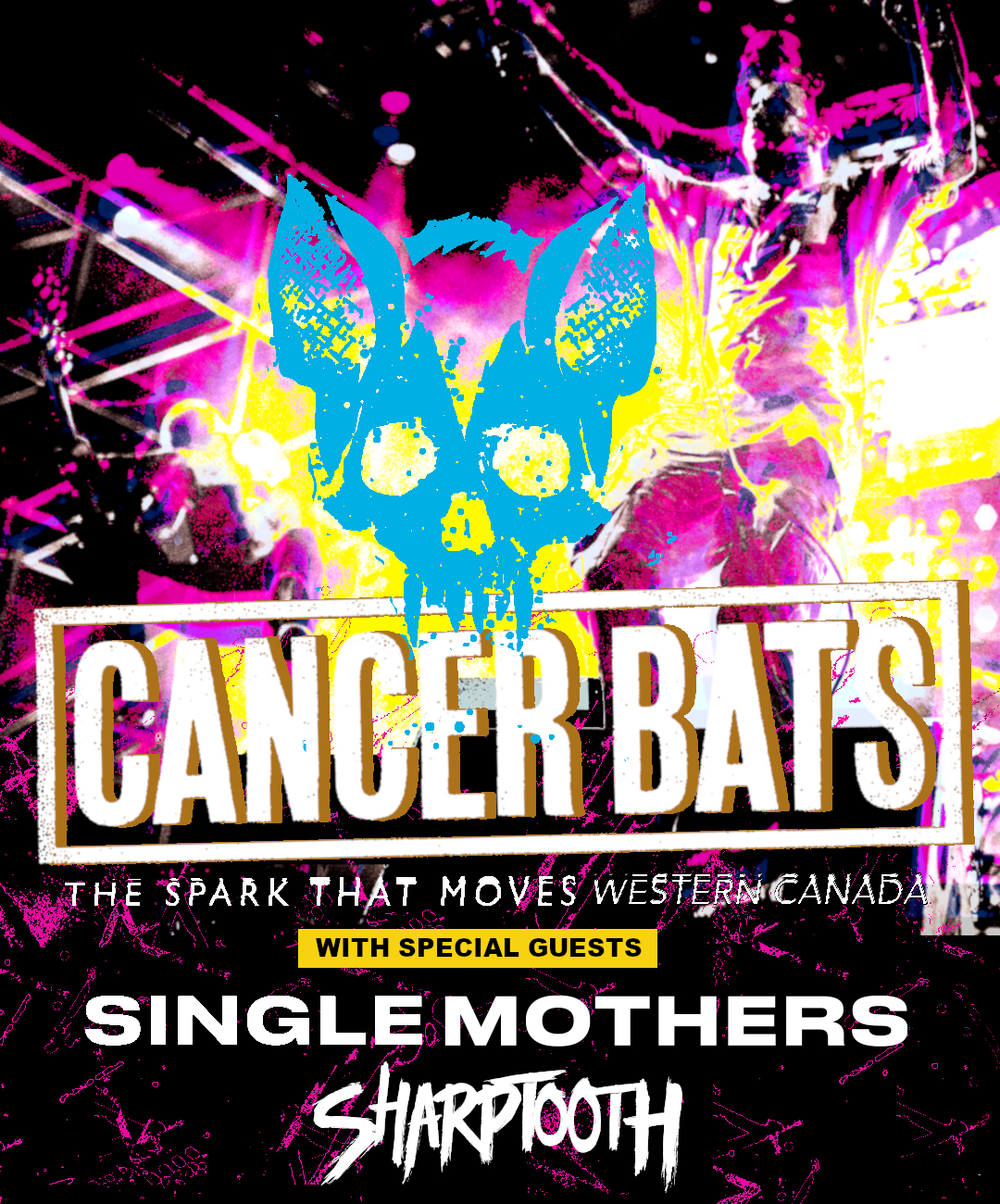 Cancer Bats!, Single Mothers, Sharptooth, Wizard Rifle, Blue Youth - Sept 15 - Image 1