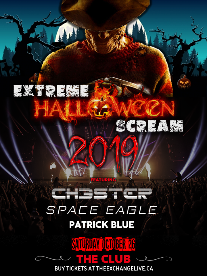Extreme Halloween Scream - Chester, Space Eagle, Patrick Blue - Image 1