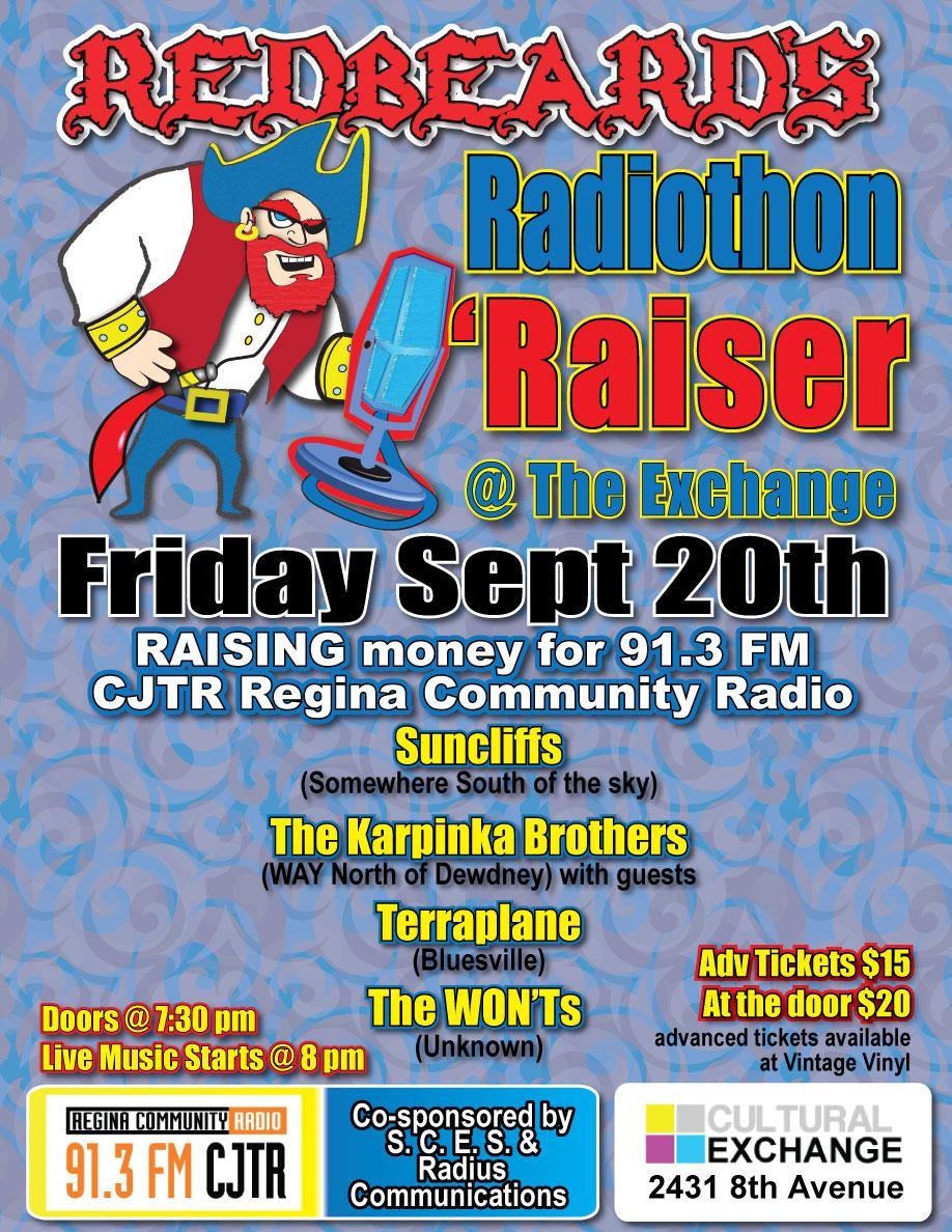 Redbeard's Radiothon 'Raiser  - Image 1