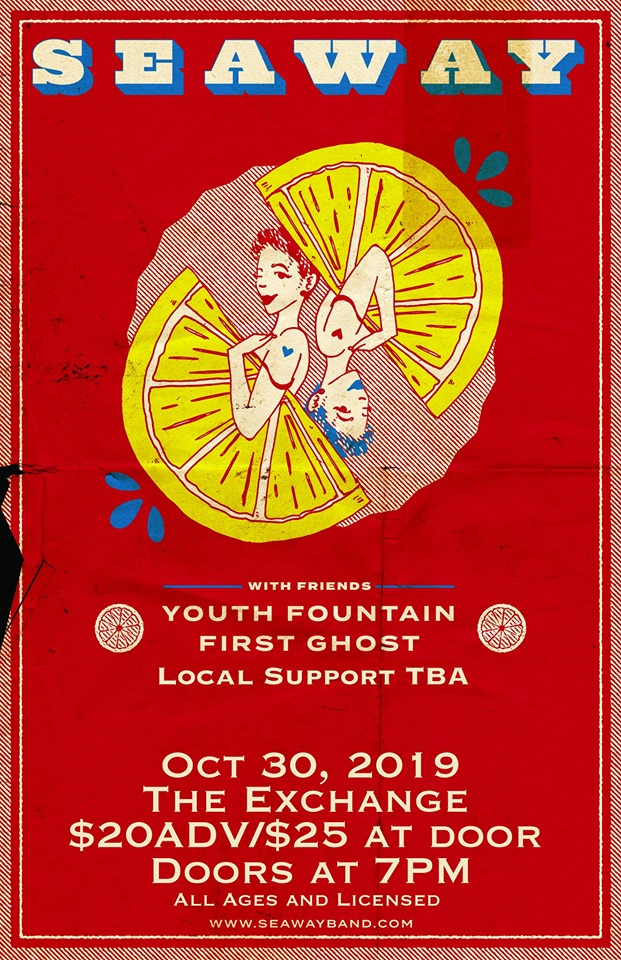 Seaway, Youth Fountain, First Ghost  - Image 1