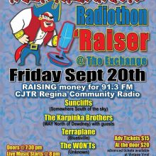 So many great artists lined up for Redbeards fundraiser for @cjtr_91.3 @suncliffsmusic @karpinkabrothers #terraplane adv online and at @vintagevinylsk or pay at the door! See you on Friday! #yqr #yqrevents #seeyqr @warehouseyqr #theexchangelive #yqrwd