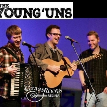 Tuesday! Grassroots Regina presents the Young'uns at the Exchange! Tix available at grassrootsregina.com #grassrootsregina #yqr #yqrevents #seeyqr #yqrwd #younguns @theyoungunstrio