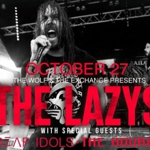 Tonight! The Lazys, The Deaf Idols. The Hourhand! Doors open at 7pm tickets available online, Vintage Vinyl, or at the door! #thelazys #yqr #yqrevents #seeyqr #yqrwd @thewolfrocks