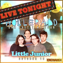 One Last Time with HOLLERADO tonight! Doors open at 8pm and the night kicks off with Little Junior! Let's do this! @hollerado @thelittlejuniors @warehouseyqr #yqrevents #yqrwd #yqr #seeyqr #littlejunior #hollerado
