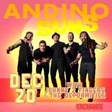 Tonight! @andinosuns @johnny2fingers0 doors open 8pm! Tickets online, @vintagevinylsk or at the doors! #yqrevents #yqr #seeyqr #yqrwd #theExchangeLive