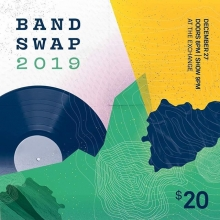 Friday night! BANDSWAP! Advance tickets at @vintagevinylsk or online at theExchangeLive.ca doors open at 8pm! #bandswap #yqr  #yqrevents #seeyqr #yqrwd