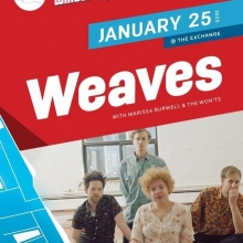 Tonight Winteruption continues! Weaves, Marissa Burwell, The Wonts! Doors at 7:30 @weavesband @marissaburwell #thewonts #theexchangelive #seeyqr #yqrevents #yqrwd @reginafolkfest