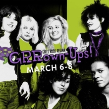 Tonight! Doors open at 7pm! GRRown Up Rock Camp Showcase. #girlsrockcampregina @girlsrockregina #yqr #yqrevents #seeyqr #yqrwd